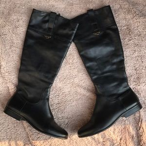 Jack Rogers leather riding boots